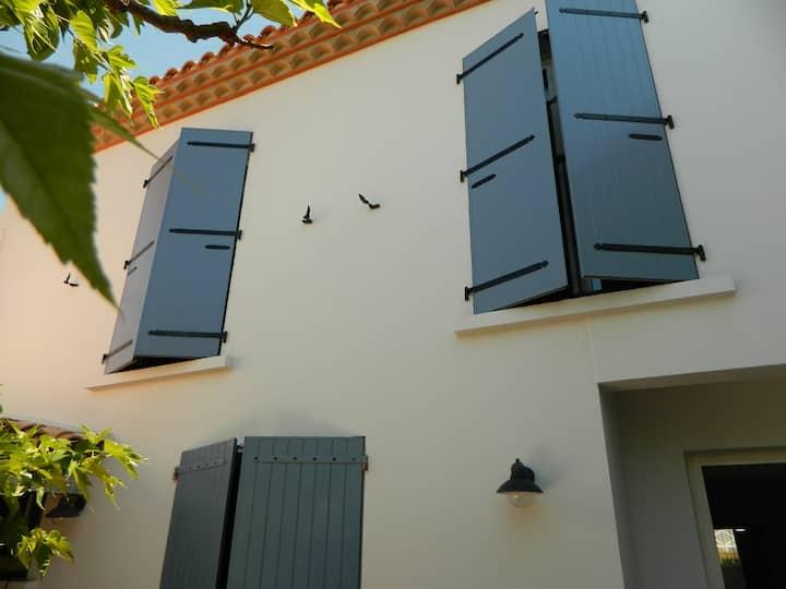 Loc chambres d'hôtes dans villa à 50 m de la plage