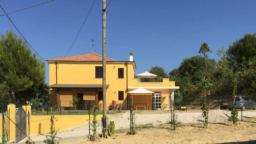 La casa di campagna Sole Terra Mare - Colle Vraddo - Casa