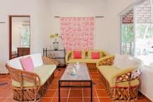 Casita living area