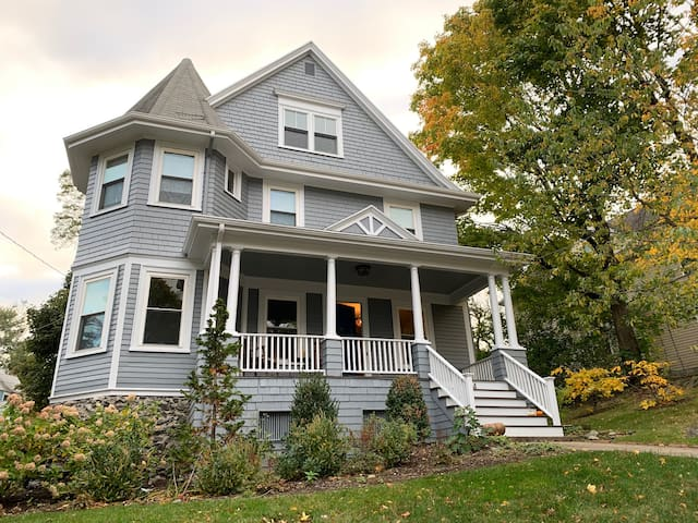 4+ Bedroom Victorian home in Newton Center