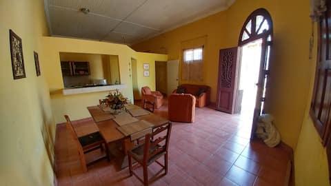 cozy, lit, family-friendly apartment