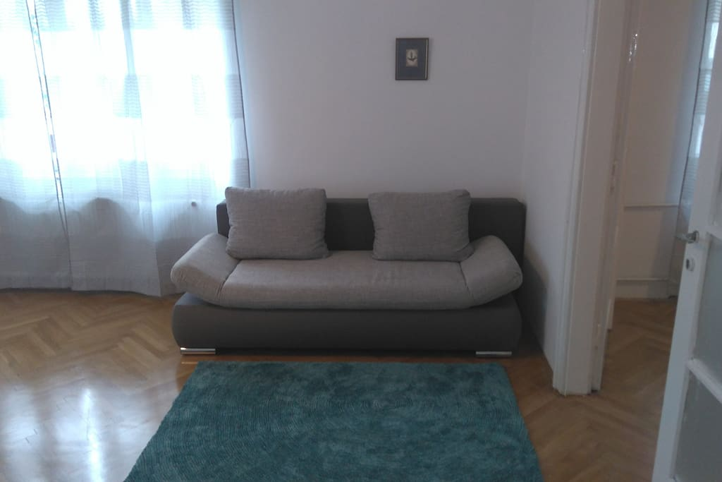 Bedroom 1- Sofa, to watch TV, extandable to  1400 x 2000 mm. for 3 rd person sleeping