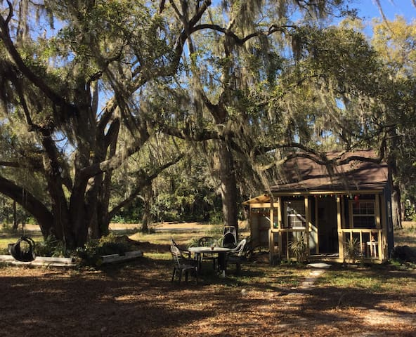 Artist's dream cabin under the oaks - Santa Rosa Beach - Casa