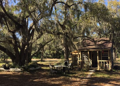 Artist's dream cabin under the oaks - Santa Rosa Beach - Haus