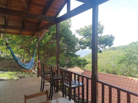 linda villa en bahia piratas conchal playa minas