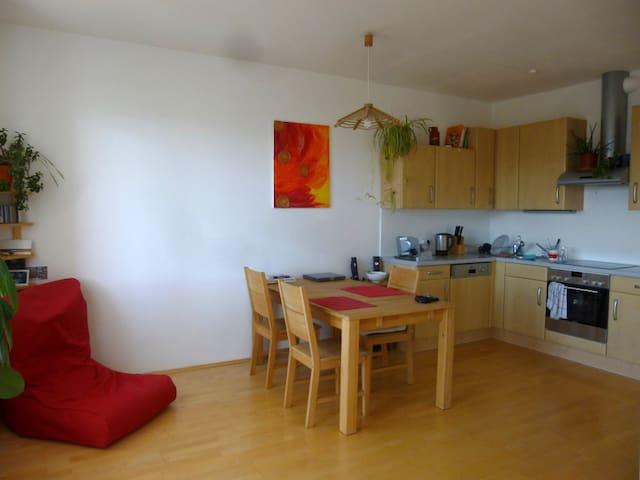 Zentral und geräumig, mit Blick auf Klagenfurt - Klagenfurt - Apartment