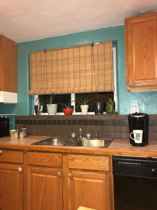 Fun Kitchen equipped with FULL size appliances and Gas Stove