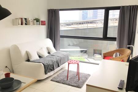 Studio idéalement situé Gares centre ville - 里爾