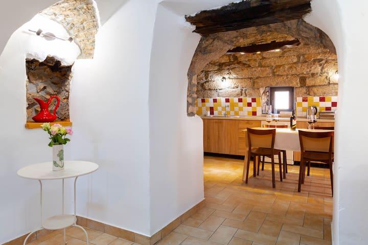 Rustic apartment - Tilia, Lisac