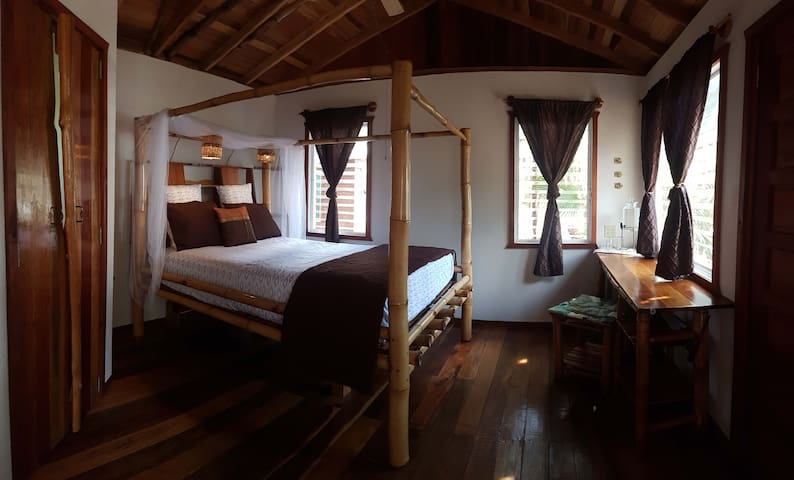 Bamboo Bungalow on the Beach in Belize