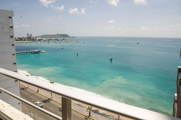 Three bedroom apartment with ocean view