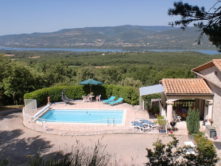 Naturist Stay near Montelimar Drome, Peace & Quiet