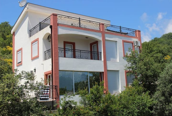Villa Victor with beautiful sea view and pool