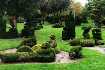 The Topiary Park is a must see--especially since it's a walk able distance from my home. It's unique.