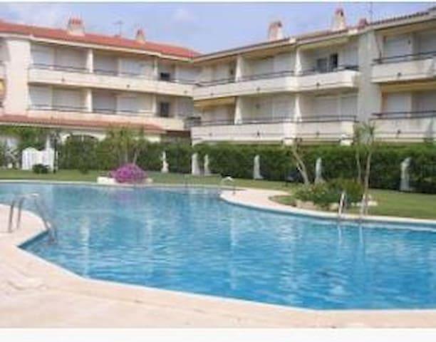 Apartament amb piscina