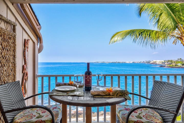 Sea Village 4303 1BD OceanFront, Upgraded Unit - Kailua-Kona - Condominio
