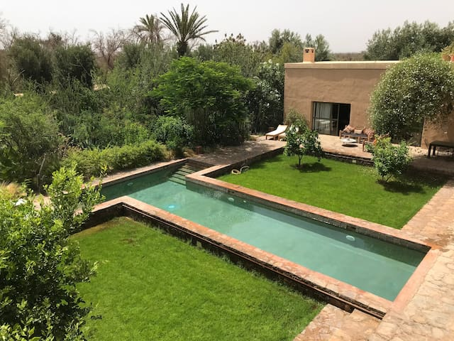 Villa d'Hossoun, Dar el Ahbab, luxe et beauté