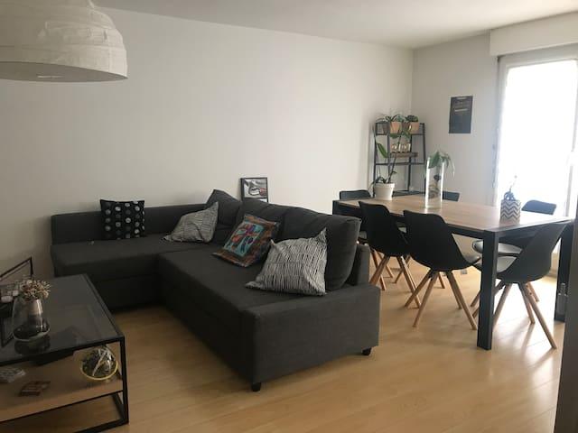 Appartement T3 en résidence dans Toulouse