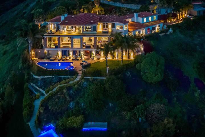 Malibu Rambla 6bd 9ba Private Rd w ocean view pool