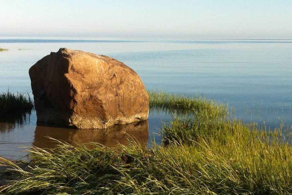 Sunrise at Breakwater Beach
