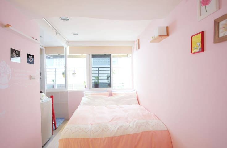 Pink 品客 西門町 - Wanhua District - Apartment