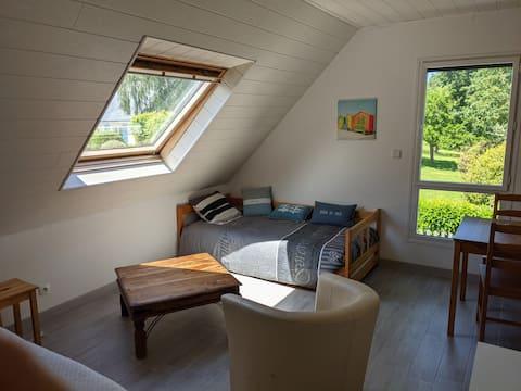 Fouesnant - Studio Cap-Coz (300m de la plage)25 m2