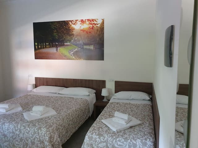 camera privata matrimoniale bed & bike