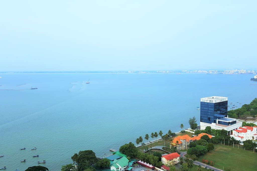 Magnificent panoramic views