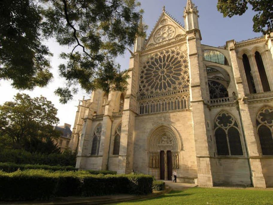 Chambre centre ville saint denis m tro basilique - Chambre des notaires seine saint denis ...