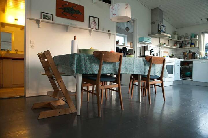 Garden Community House 100m2. - Copenhague - Maison