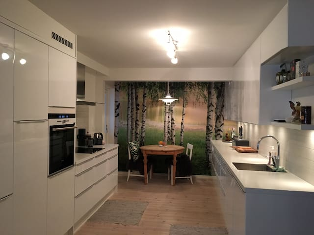 Spacious and central flat in Bodø.