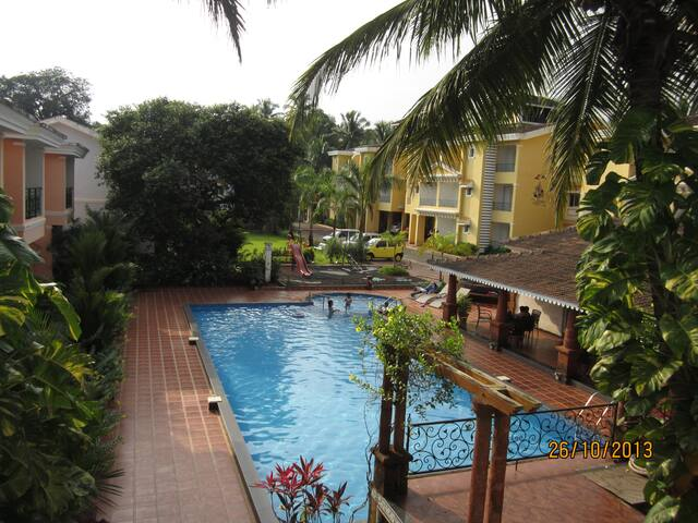 Vacation Homes Goa 2 bhk, Colva - Colvá