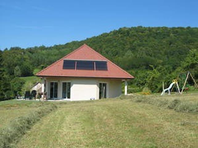 Grande maison dans le vignoble jurassien - Passenans - Casa