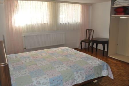 Souterrainzimmer in ruhiger Wohnlage - Hof - Casa