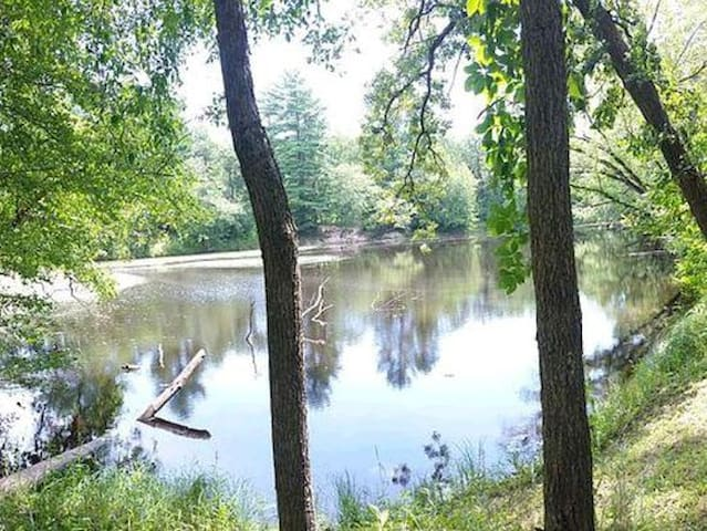 Secluded Campsite with Private Lake & River Access