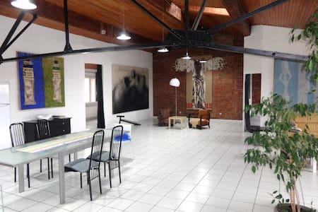 Loft Design au centre d´art - Perpignano - Loft