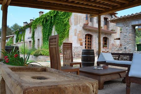 Big eco countryhouse near Barcelona