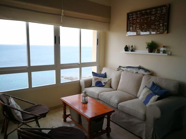Apartamento con vistas únicas