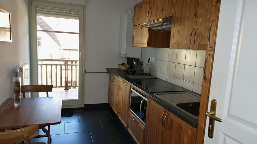 Beau 3 pièces+balcon tout confort - Bergheim - Byt
