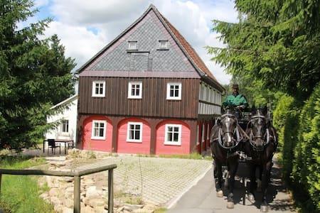 Oberlausitz Ferienhaus Gebirgshäusl - Jonsdorf
