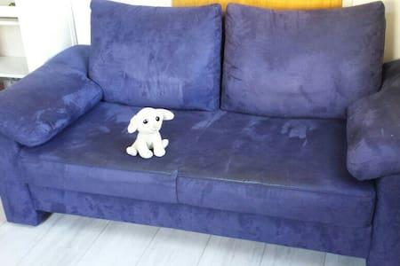 Schlafsofa in gemütlichem Zimmer  - Schwäbisch Gmünd