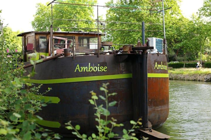 Péniche, Logement du marinier - Toulouse - Barco