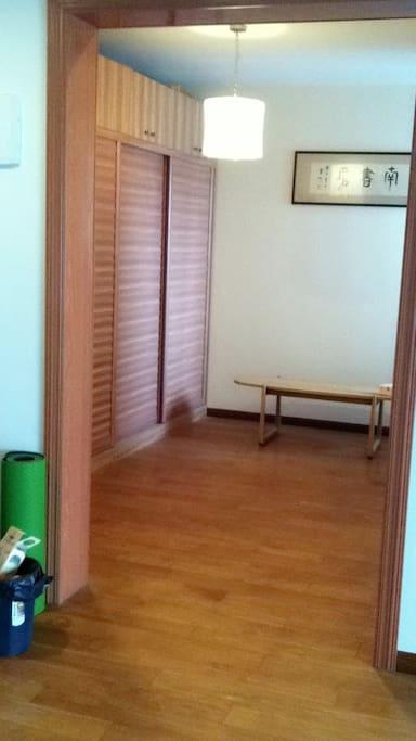 Little yoga room