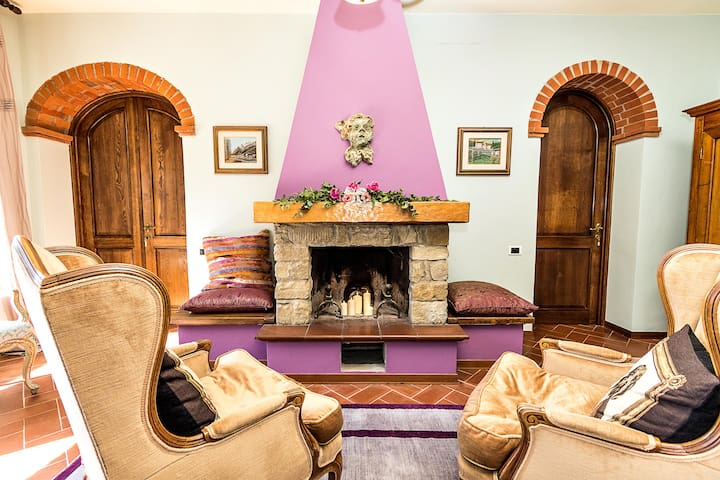 Tuscany Arezzo, Chinese Room - Subbiano - Bed & Breakfast