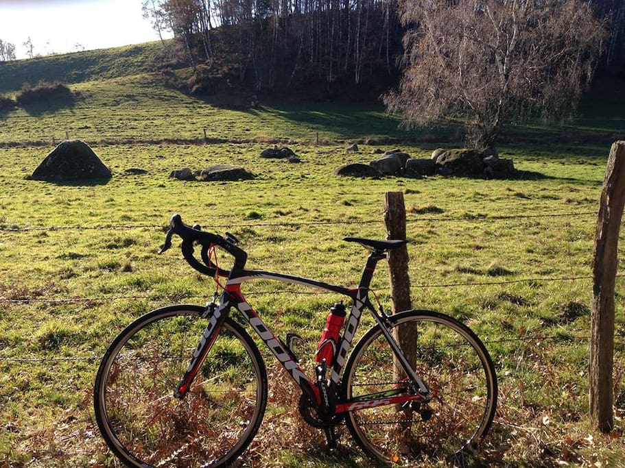 Le Cantal à vélo