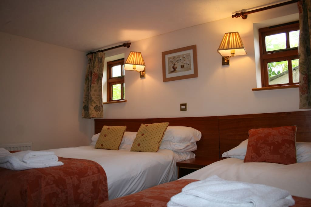 Double room - has double and single bed