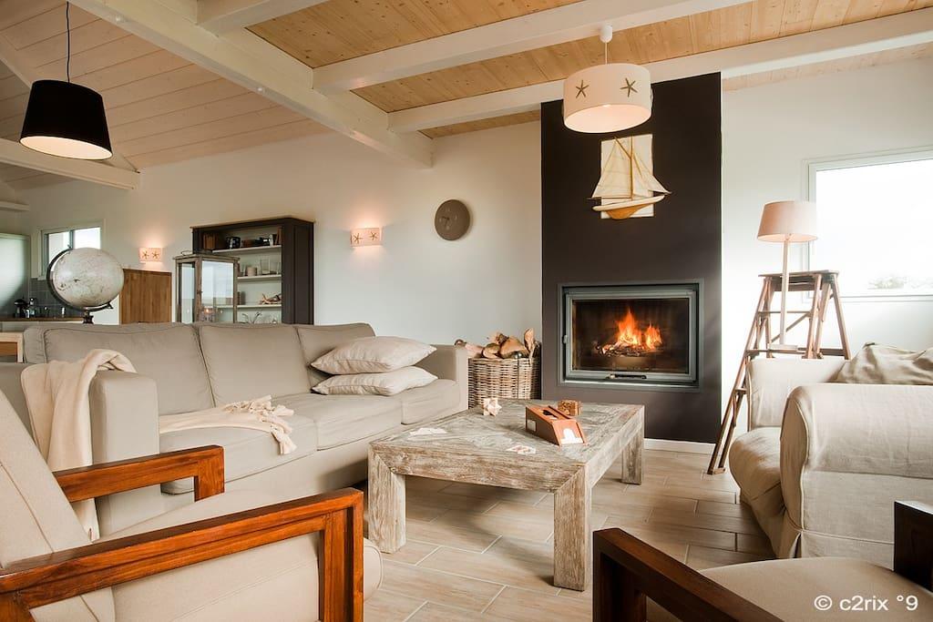 Villa architecte piscine int rieure priv e 13 pers villas louer saint cast le guildo - Airbnb piscine interieure ...