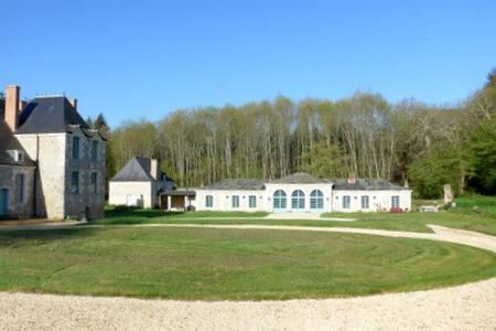 L'Orangerie de La Calvinière, Loire Valley/ 9-10 p