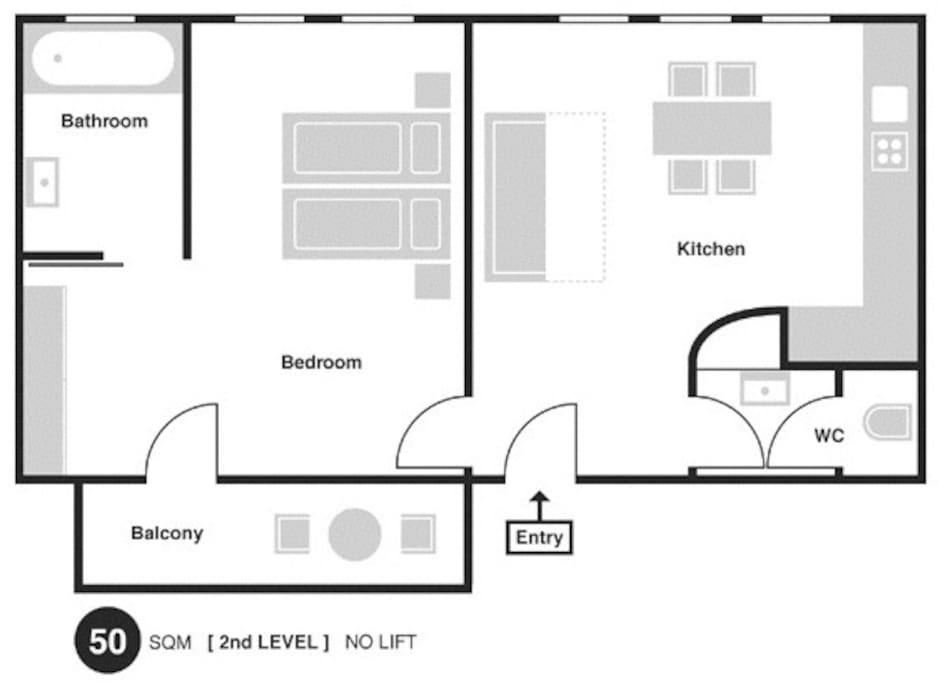 Floor plan show you exact layout of rooms, windows, balcony, toilet and bathroom
