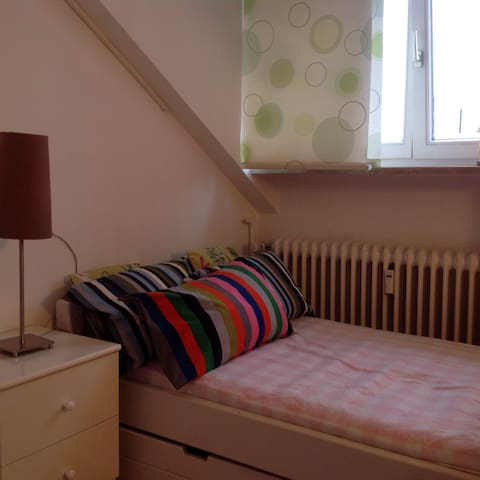 Cosy little room in Großhadern - Monachium - Apartament